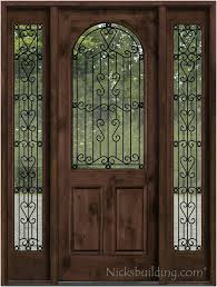 iron and glass front doors lovely front door with wrought iron and glass entry doors