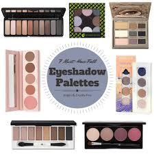 vegan free eyeshadow palettes