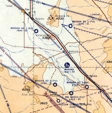 Tucson Elevation Chart Abandoned Little Known Airfields Arizona Northern Tucson
