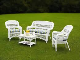 white wicker porch furniture.  White White Wicker Patio Furniture Sets On Porch I