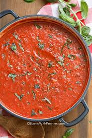 easy marinara sauce spend with pennies
