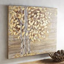 interesting design pier one wall art planked golden birch trees 1 imports