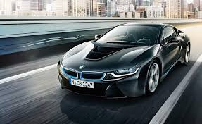 Bmw I8 Front Profile