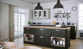 kitchen. Pronto Wilton Oakgrain Graphite Grey Kitchen