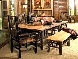 rustic farmhouse table and chairs furniture circle dining seats barn style round gray half side n how to build farmhouse dining table with leaves circle