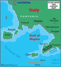 pompeii for the love of rome Map Of Italy Naples And Pompeii a map of the bay of naples naples pompei map