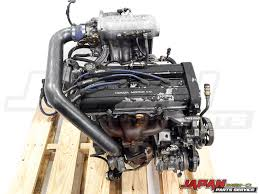 97-01 Honda CRV B20B Engine with Genuine HKS Turbo Kit 2.0L Non ...