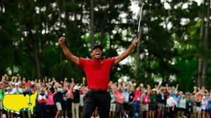Tiger Woods Final Putt and Celebration at the 2019 Masters Tournament -  YouTube