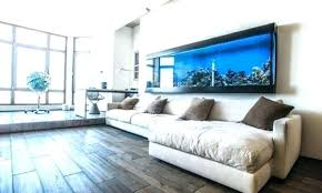 aquarium furniture design. Aquarium Furniture Design Modern Home Aquariums Ideas With White L Shaped Sectional Sofa Set
