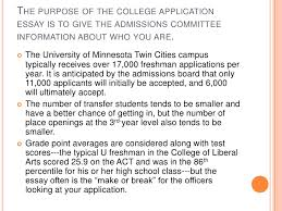 writing the college application essay 2 the purpose of the college application essay