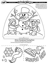 Small Picture Dome Light Designer Winter Wonderland Coloring Page crayolacom