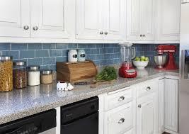 Innovative Ideas Blue Kitchen Backsplash Tile Fancy Idea How To Install A  Tutorial