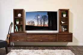 Wall Units, Wall Mounted Entertainment Center Plans Floating Entertainment  Center Wall Mount TV Stand ECO