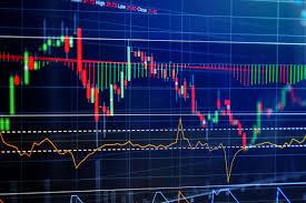 Chart Screen Financial Stock Market Graph Chart Of Stock Market