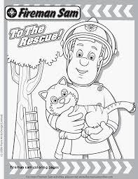 Brandweerman Sam Kleurplaat Voorbeeld Fire Truck Rescue