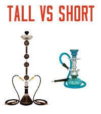 Tall Hookahs Vs Short Hookahs Does Size Matter