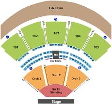 ameriheater seating chart