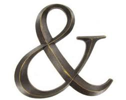 metal letter wall art ampersand sign metal ampersand Bronze letters wall letters metal wall decor letters hanging wall letters