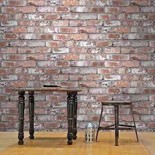 Holcombe Brick Effect Wallpaper