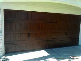 dark brown garage doorsCarriage Style Garage Doors  Cedar Park Overhead Doors