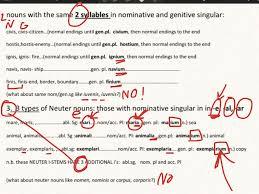 Latin 3rd Conjugation Chart 3rd Declension I Stem Nouns Latin Latin Grammar Showme