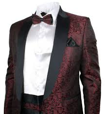 Patterned Tuxedo Impressive Buying A Great Prom Suit Online Advice From An Expert Prom Squad