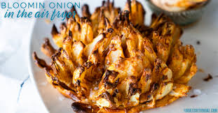 blooming onion in the air fryer recipes