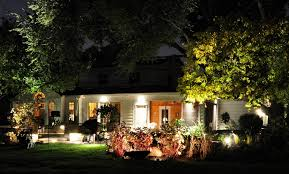 Outside Landscaping Lights Simple House Designs