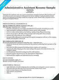 Best Administrative Assistant Resume Best Of Resume For Executive Delectable Resume Administrative Assistant