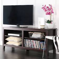 tv stand with storage. Brilliant With Wood TV Media Storage Stand For TVu0027s Up To 60 In Tv With R