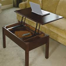 ... Brown Color Coffee Table Convertible Handmade Premium Laminate Oak  Wooden Rustic Wonderful Decoration Interior Design ...