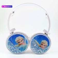 Cute <b>Frozen Bluetooth 5.0 Headphones</b> Wireless Girls Kids Cartoon ...