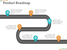 Road Map Powerpoint Product Roadmap Ppt Powerpoint Presentation File Icon Powerpoint