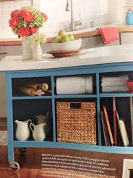 Better Homes And Gardens Kitchens Kitchen Island Made From 2 Ikea Hemnes Sofa Tables Casters