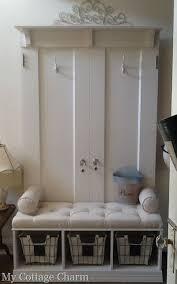 Antique Entryway Bench Coat Rack Elegant Entryway Bench Coat Rack Custom Made Entry And Hook Inside 87