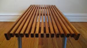 slat bench plans