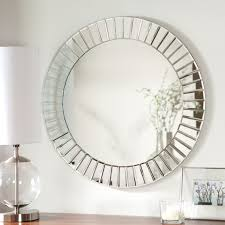 Frameless Bathroom Mirror D233cor Wonderland Fortune Modern Frameless Beveled Wall Mirror