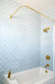 Bathroom Tile Installation Stunning I Love Fish Scale Tiles They Will Definitely Be In The Next House
