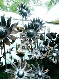 garden metal art steel outdoor wall artwork flowers google search rusty uk garden metal art