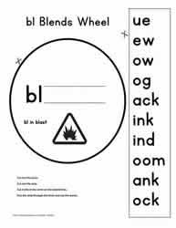 Our phonics blends worksheets will take kids from reading beginner to blending master! Bl Blend Activities Worksheets