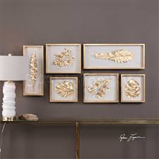 Decorative Shadow Boxes Shocking Decorative Accents Golden Leaves Shadow Box Wall Decor 2