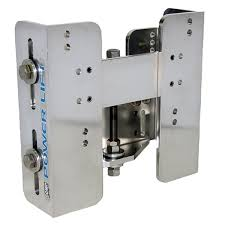 com 5 5 inch set back cmc manual power lift transom jack plate 65012 fishing equipment sports outdoors