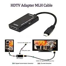 Buy ZORBES <b>gocomma</b> MHL Adapter <b>Micro USB</b> to HDMI Cable for ...