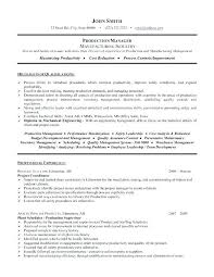 Junior Project Manager Resume Resumes For Project Managers Old