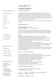 Graphic Designer Cv Sample Resume Layout Curriculum Vitae
