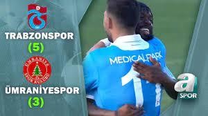 Trabzonspor 5 - 3 Ümraniyespor (Hazırlık Maçı) - YouTube