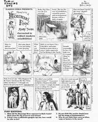 huckleberry finn racism and the social order the comics journal click