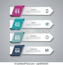 Modern Chart Design Modern Infographic Arrows Vector Design Template Of 4 Options Steps Parts