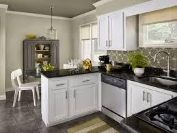Kitchens With Dark Granite Countertops White Kitchen Cabinets With Dark Granite Countertops Brown Wooden