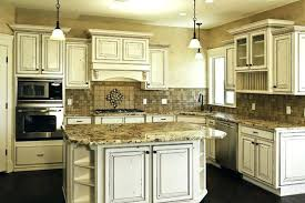 wash cabinets with granite countertops white